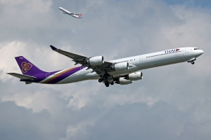 Thai Airways International - Airbus A340-642 - HS-TNF - 3657 NET